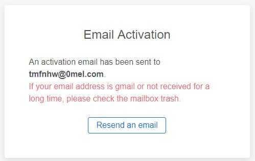 KUcoinメール認証