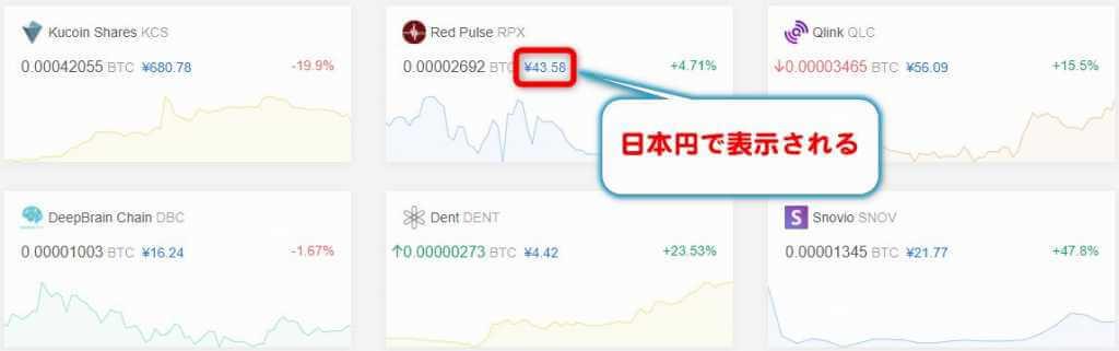 日本円表示