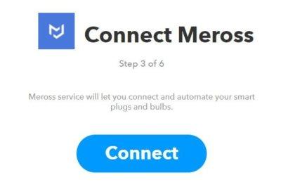 MerossのIFTTT連携