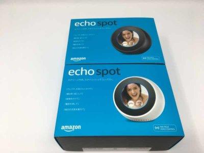 AmazonEcho Spotの外箱