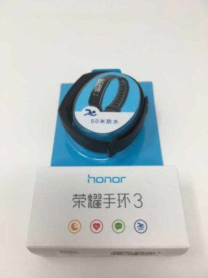 開封後のHuawei Honor Band 3