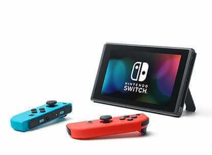 Nintendo Switchのテーブルモード